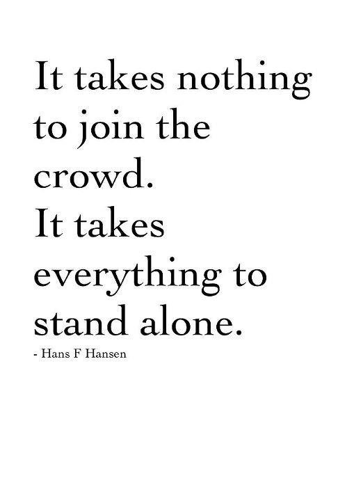 quote standing alone