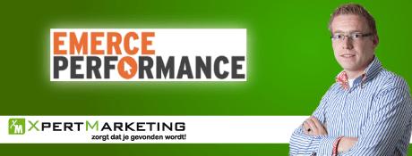 Emerce Performance - Performance based marketing