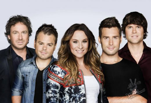 Coaches The Voice of Holland 2012