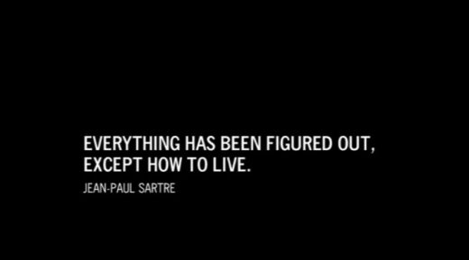 Quote J-P Sartre