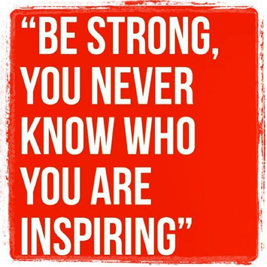Quote You are inspiring
