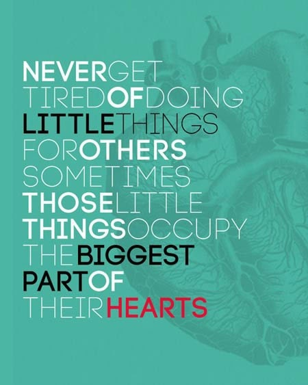 Quote little things