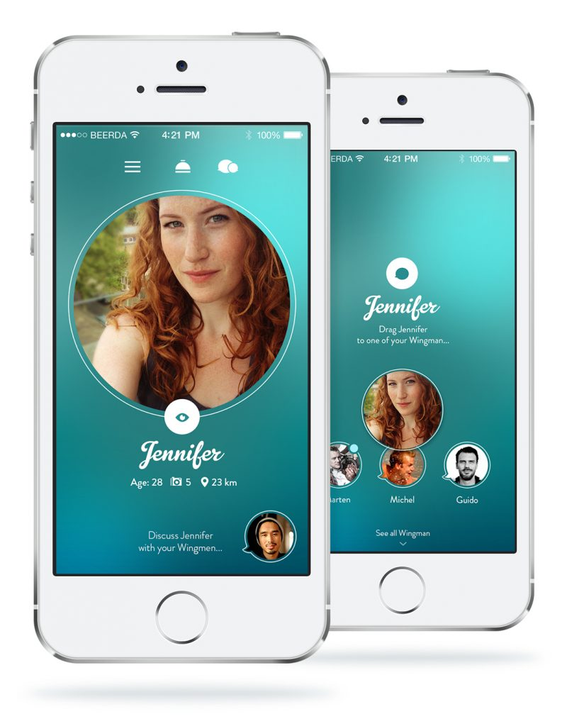 IPhone dating app vis