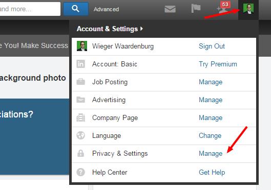 LinkedIn contacten exporteren