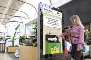 [Campagne] Moppen tappen op interactieve zuilen in winkelcentra