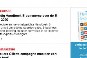 Bestel Handboek E-commerce: 'Waardecreatie 2020 in een converterende, nieuwe klantreis' #HECOM