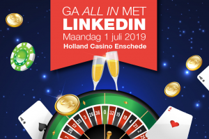 [Event] Social Media Club Twente gaat 1 juli 2019 LinkedInnen in het Holland Casino
