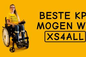 Stichting 100.000 gehandicapte kinderen doet oproep: 'KPN, geef ons XS4ALL!' #WijWillenXS4ALL
