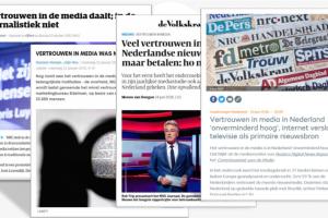 [Onderzoek] 'Dalend vertrouwen in de sociale media en meer instituties' #vraagtekens