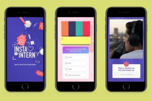 Social.Lab werft talent via Insta Stories: 'Swipen voor een stage'