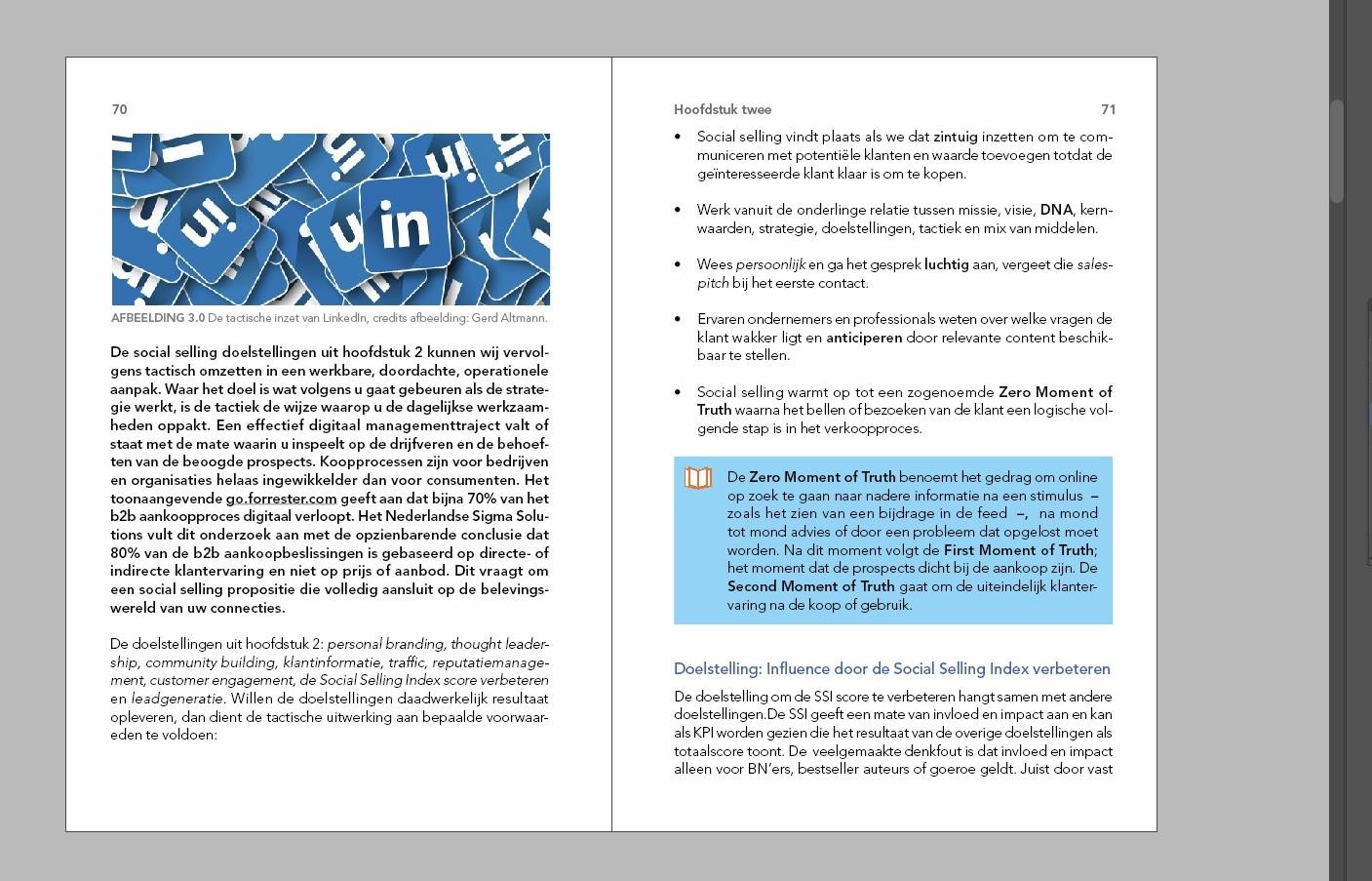 Uniek boek over Social Growth-hack 2021:  'Social Selling met LinkedIn' #inhoud #boek