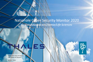 Nationale Cyber Security Monitor 2020