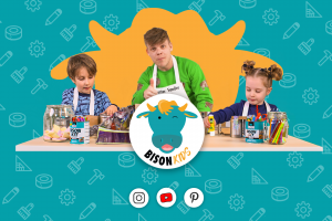 Content en inspiratie voor kids: Lancering cross-channel knutselplatform Bison Kids