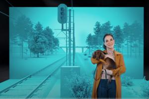 [Social campagne] 'Domino effect van spoorlopen'