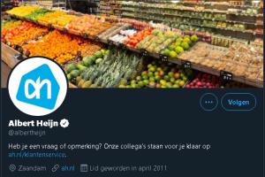 AH stopt met twittercare (klantenservice via Twitter)