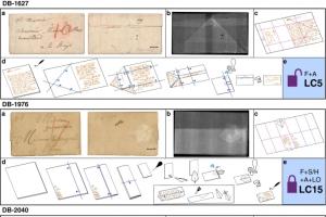 Algoritme opent verzegelde zeventiende-eeuwse brief uit collectie Beeld en Geluid Den Haag