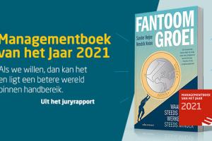 Fantoomgroei is uitgeroepen tot Managementboek van het Jaar 2021