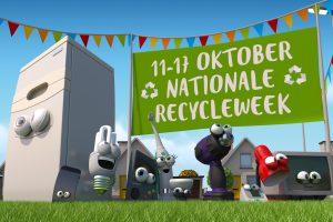 Oktober recycleweek: 'Wecycle speelt in op hoge recyclebereidheid Nederland!'